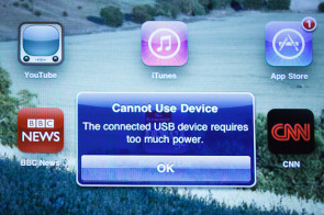Cannot Use Device