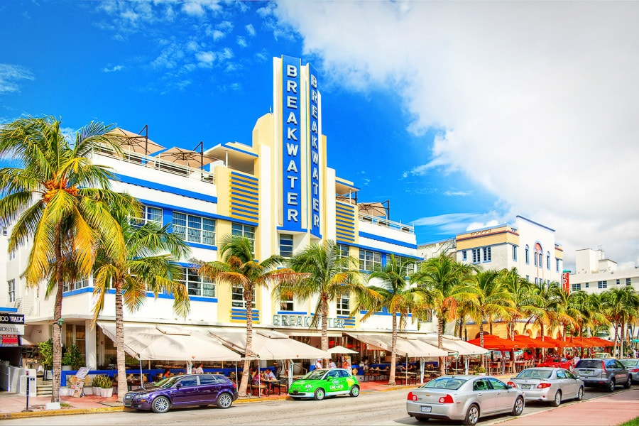 Hotel Breakwater Ocean Drive Miami Beach Fl