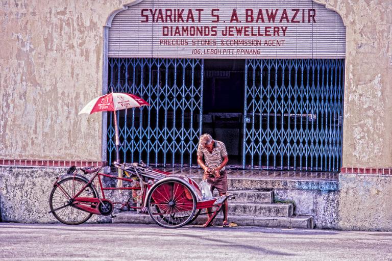 Daily Photo Rickshaw Driver Richard Davis Photography