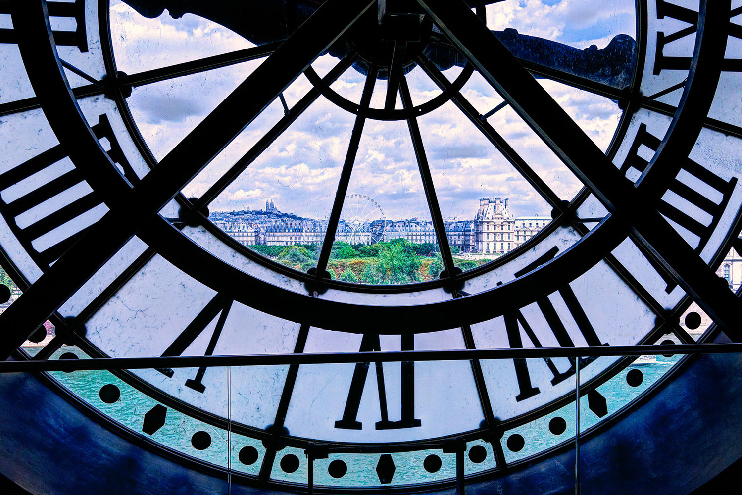 Metro Details about  /Magnetic dosenuhr clock with magnet in the Tin-Paris-Eiffel Tower show original title