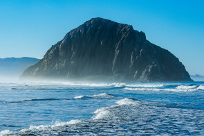 Morro Rock, Morro Bay, California.