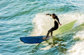Pismo Surfer, Pismo Beach, California