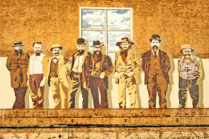 The Magnificent Eight, a mural from San Diego, California