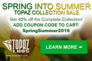 Topaz Spring into Summer 2016