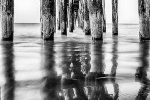 Under Cayucos Pier