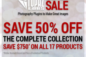 75% off the Topaz Complete Collection