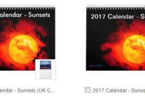 2017 Sunset Calendars